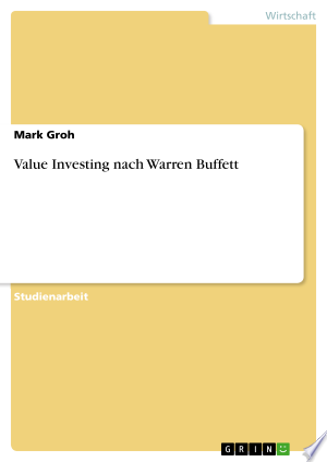Value Investing nach Warren Buffett