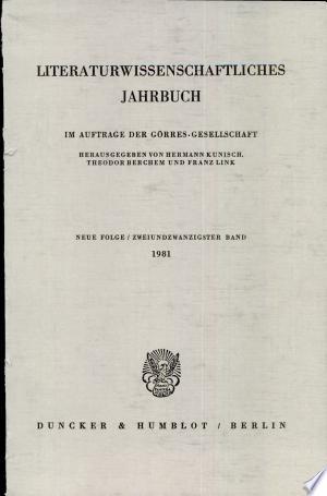 Lit. Jahrbuch 22 (1981)