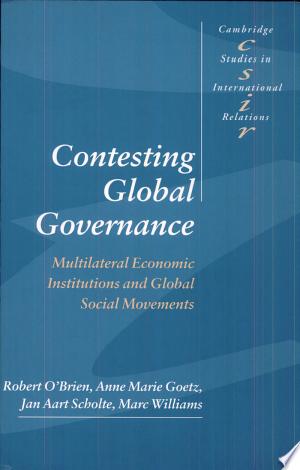 Contesting Global Governance
