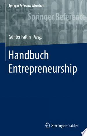 Handbuch Entrepreneurship