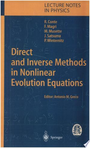 Direct and Inverse Methods in Nonlinear Evolution Equations