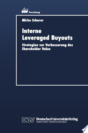 Interne Leveraged Buyouts