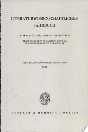 Lit. Jahrbuch 21 (1980)