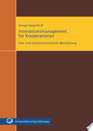 Innovationsmanagement für Kooperationen