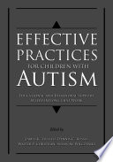 Effective Practices for Children wi...