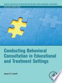 Conducting Behavioral Consultation ...
