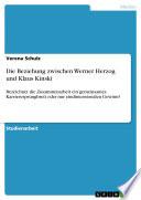 Die Beziehung zwischen Werner Herzo...