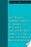 5x3 Minute Summary Mashup of Women ...