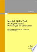 Mental Skills Test for Gymnastics: ...