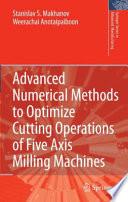 Advanced Numerical Methods to Optim...